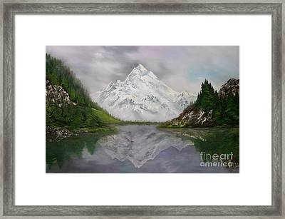 Lake Como Italy Framed Print by Jean Walker