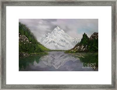 Lake Como Italy Framed Print