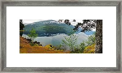 Lake Crescent - Washington - 02 Framed Print by Gregory Dyer