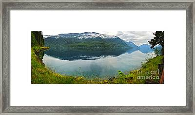Lake Crescent - Washington - 03 Framed Print by Gregory Dyer