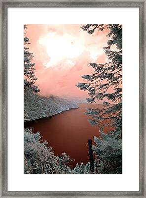 Lake Crescent Light Framed Print