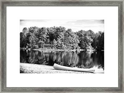Lake Day Framed Print by John Rizzuto