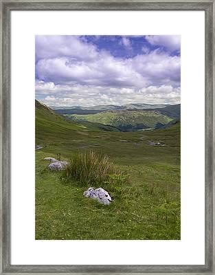 Lake District Cumbria - 4 Framed Print