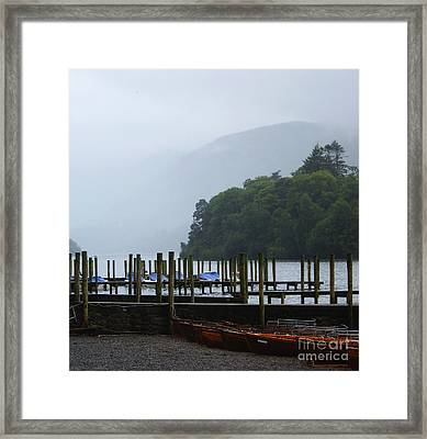 Lake District For A Reason Framed Print by Malcolm Suttle