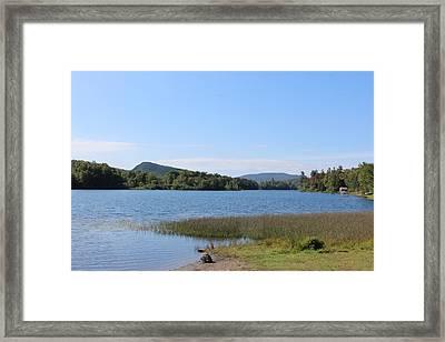 Lake Eden Vermont Framed Print by William Alexander