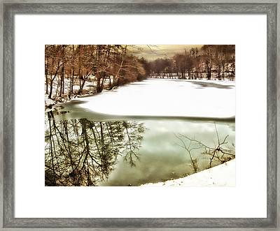 Lake Effects Framed Print by Jessica Jenney