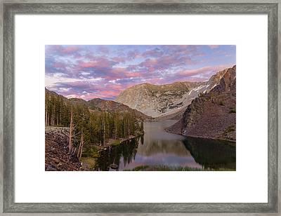 Lake Ellery  Framed Print