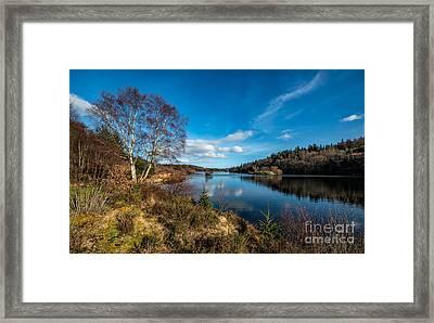 Lake Elsi Framed Print