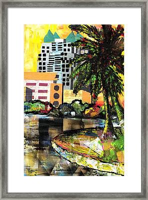 Lake Eola - Part 3 Of 3 Framed Print by Everett Spruill