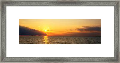 Lake Erie Ny Usa Framed Print by Panoramic Images