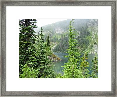 Lake Eunice II Framed Print
