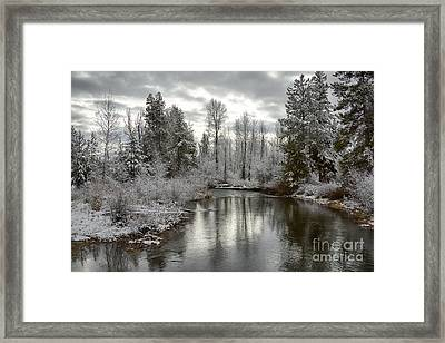 Lake Fork Framed Print