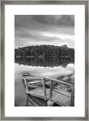 Lake Frederick  Framed Print by Kathleen Holley