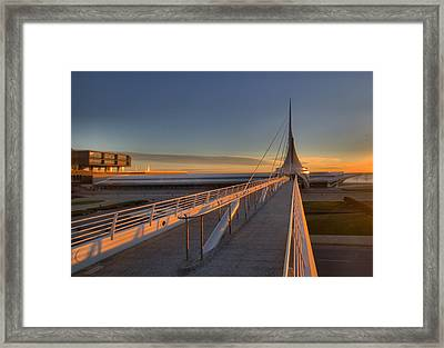 Lake Front View Framed Print