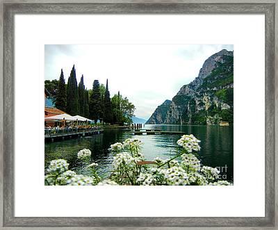 Lake Garda Framed Print by Mariola Bitner