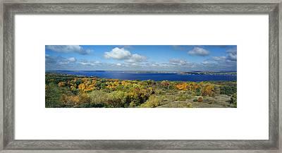 Majestic - Lake Geneva Wisconsin Framed Print