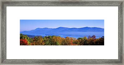 Lake George, Adirondack Mountains, New Framed Print by Panoramic Images