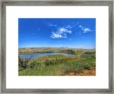 Lake Herman Framed Print by Brian Maloney