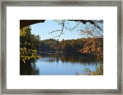 Lake In The Catskills Framed Print