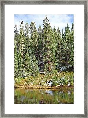 Lake Irene In Autumn Study 13-1 Framed Print