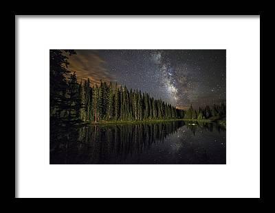 Lake Granby Framed Prints