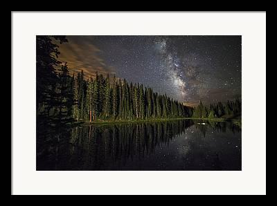 Lake Irene Framed Prints