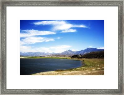 Lake Isabella Framed Print by Hugh Smith