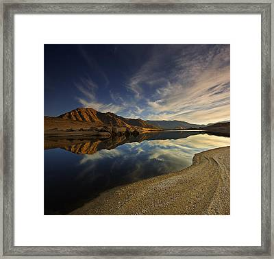 Framed Print featuring the photograph Lake Isabella  Mg_8082 by David Orias