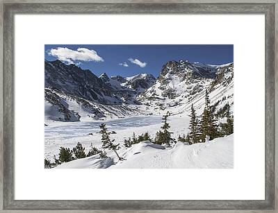 Lake Isabelle Framed Print by Aaron Spong
