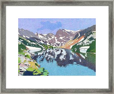 Lake Isabelle Colorado Framed Print
