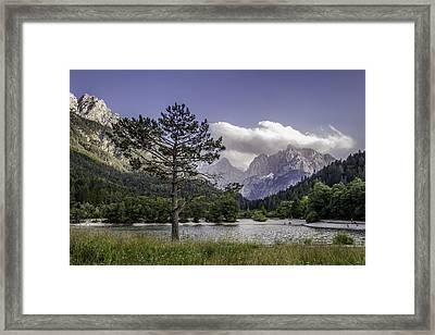 Lake Jasna Framed Print