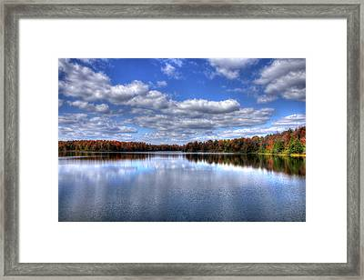 Lake Jean Framed Print by David Simons