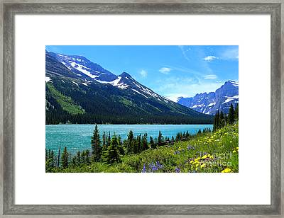 Lake Josephine Framed Print by Marty Fancy