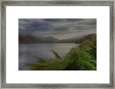 Framed Print featuring the photograph Lake Junaluska by Dennis Baswell
