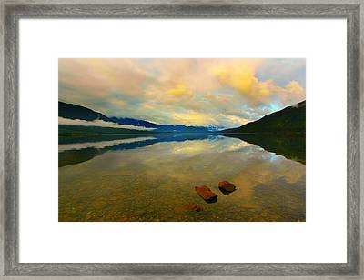 Lake Kaniere New Zealand Framed Print by Amanda Stadther