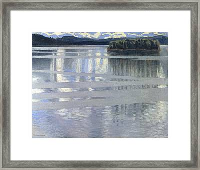 Lake Keitele Framed Print