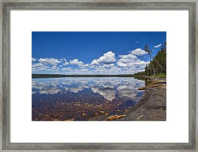 Lake Lewis Reflections Framed Print