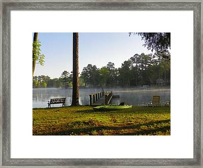 Lake Life Framed Print