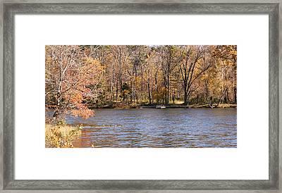 Lake Lincoln Framed Print by Sandy Keeton