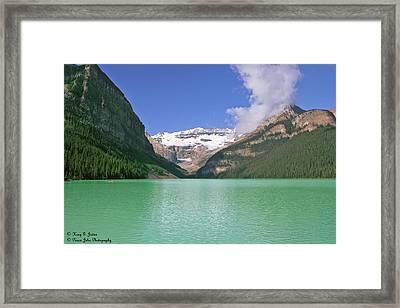 Lake Louise -1 Framed Print