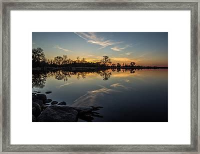 Lake Louise Framed Print by Aaron J Groen