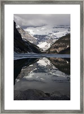 Lake Louise Alberta Canada Framed Print