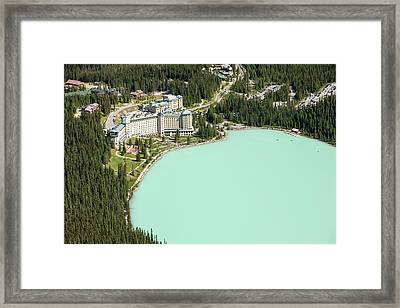 Lake Louise Framed Print by Ashley Cooper