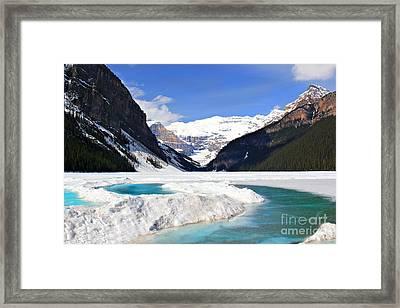 Lake Louise Canada Framed Print