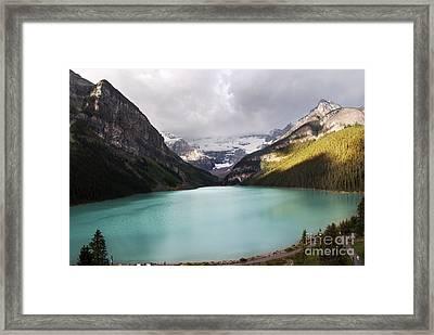 Lake Louise Panorama Framed Print by Yuri Santin