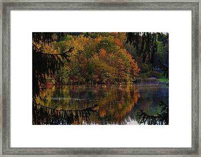 Lake Lucerne Ohio Framed Print