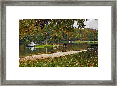 Lake Lucerne Framed Print
