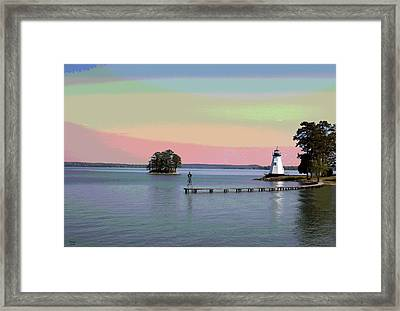 Lake Martin Lighthouse Framed Print