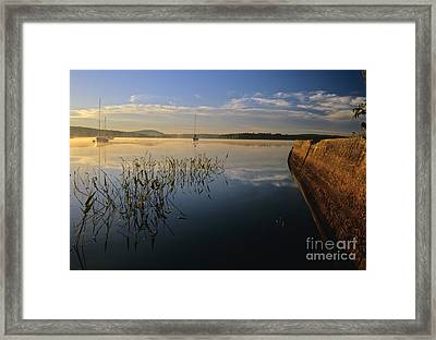 Lake Massabesic - Auburn New Hampshire Framed Print by Erin Paul Donovan