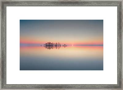 Lake Mattamuskeet Memory Framed Print